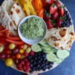 GreenGoddess Avocado Sauce!!! Light, healthy and packed with flavor, you'll be making this Green Goddess Avocado Sauce every chance you get! Enjoy with raw or roasted veggies, pita bread, crackers and more! Spread this on sandwiches and in wraps too! It's so good!
