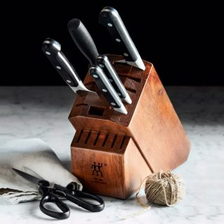 ZWILLING Pro Knife Block Set Giveaway! We are ending my 100,000 Instagram followers celebration giveaway week with this beauty!