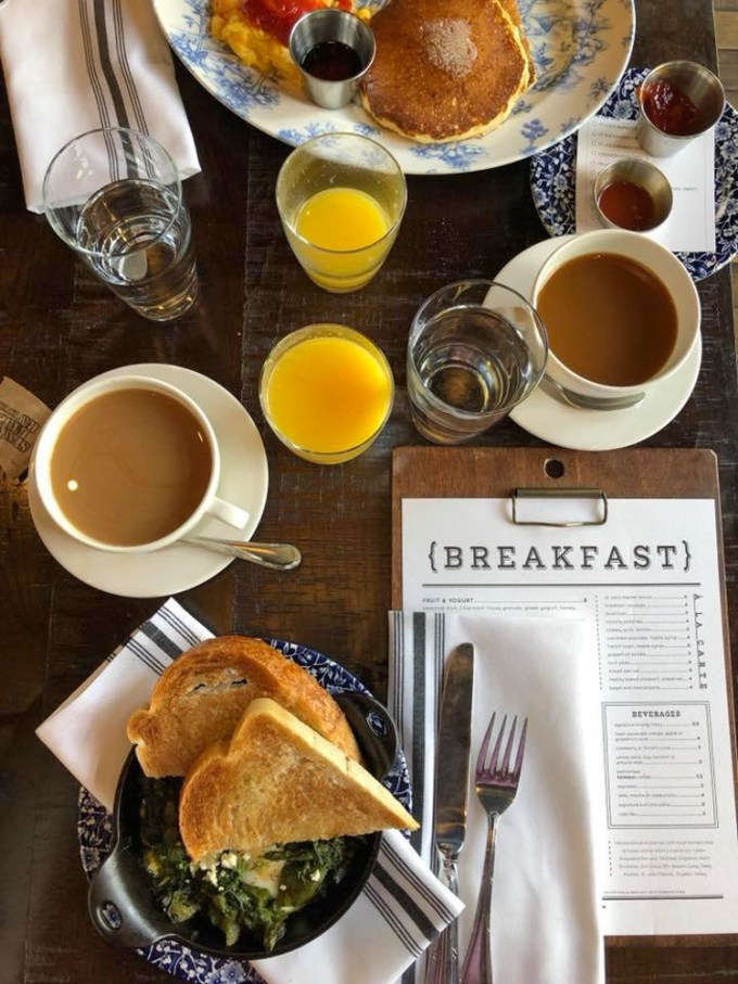 Breakfast at The Charmant Hotel