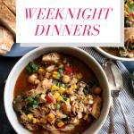 50 Easy Weeknight Dinners