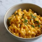 Madeline's favorite macaroni and cheese. School is back in session and we are ready to go with this creamy, delicious macaroni and cheese!!