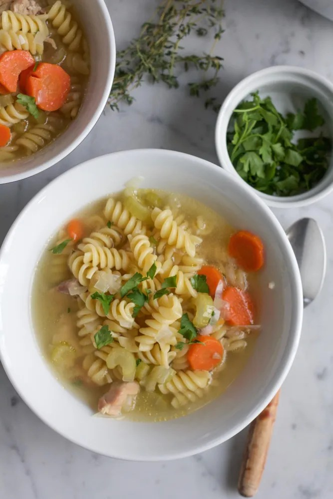 Chicken Noodle Soup Easy Weeknight Dinner