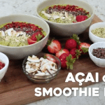 Acai Green Smoothie Bowl + A Video!