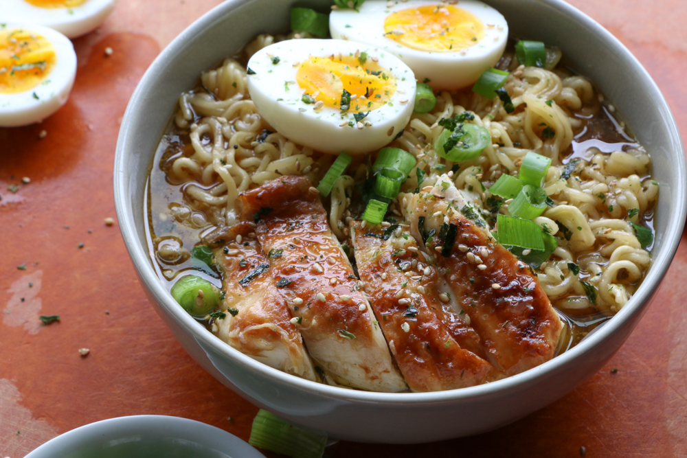How to Make Chicken Ramen in the Instant Pot