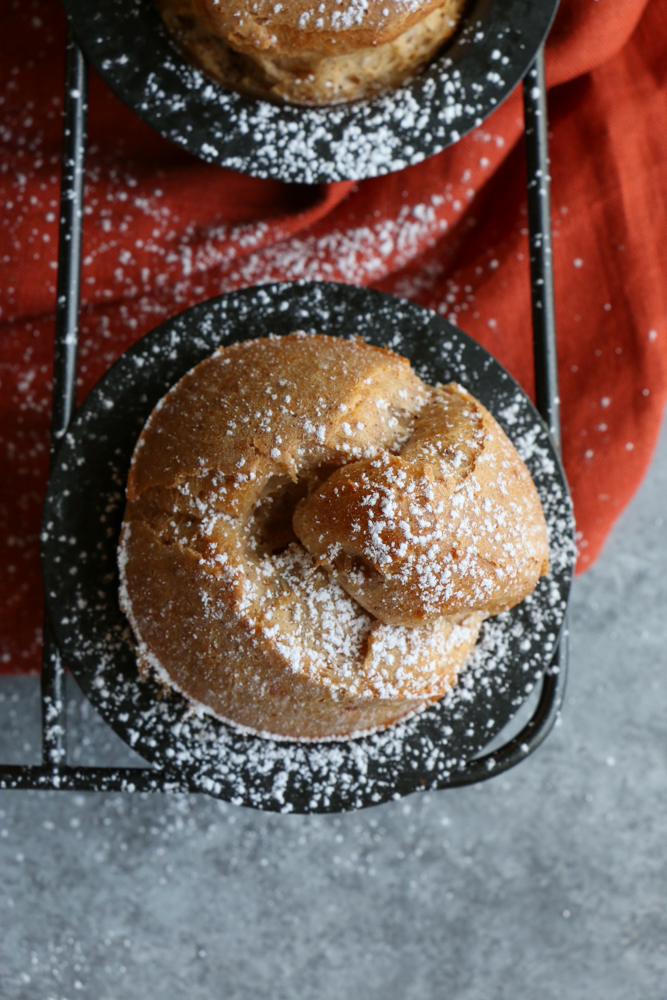 Pumpkin Pie Spice Popovers! The perfect treat to make this holiday season! Made with Land O Lakes® Pumpkin Pie Spice Butter Spread, these are so flavorful and delicious!