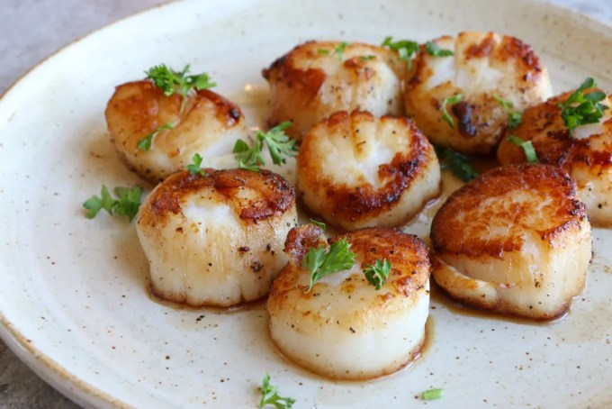 Seafood Recipes for Summer!! When you're firing up the grill this summer, don't forget the seafood! Grilled Cod in foil, shrimp and vegetable skewers and seared sea scallops! So good!