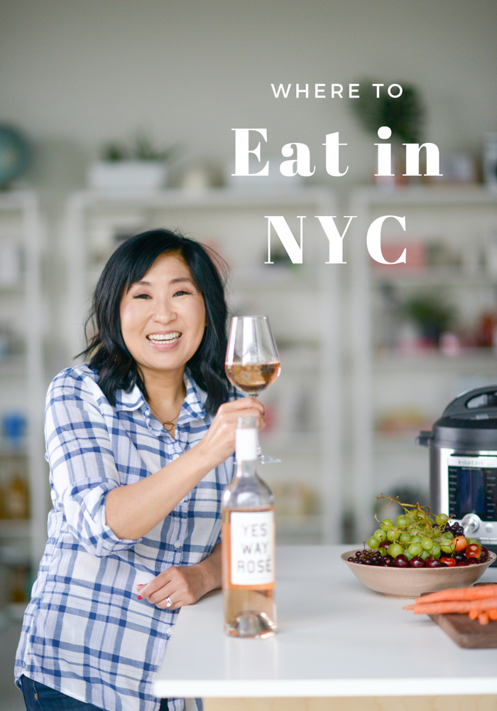 Where to eat in NYC! As recommended to me from my followers on Instagram! From pizza to Asian food to ice cream, check these out!