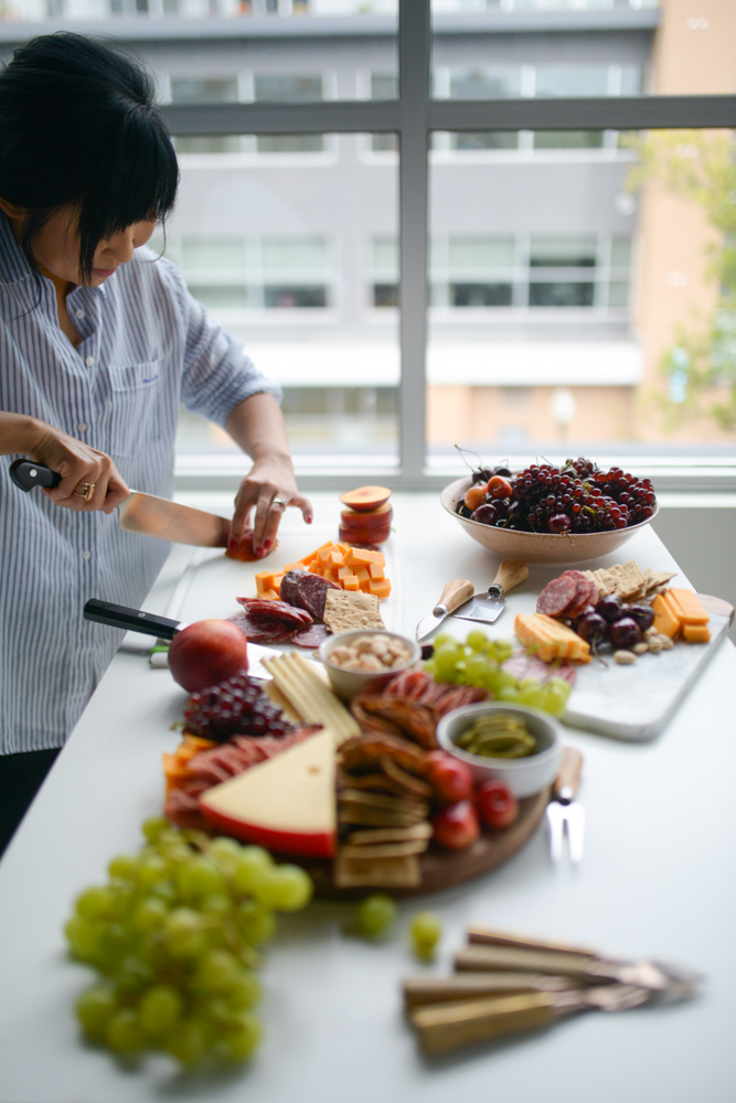 Cheese Board Workshop in Brooklyn, New York. Just in time for the holidays, come to my workshop and learn how to build your own cheese board!