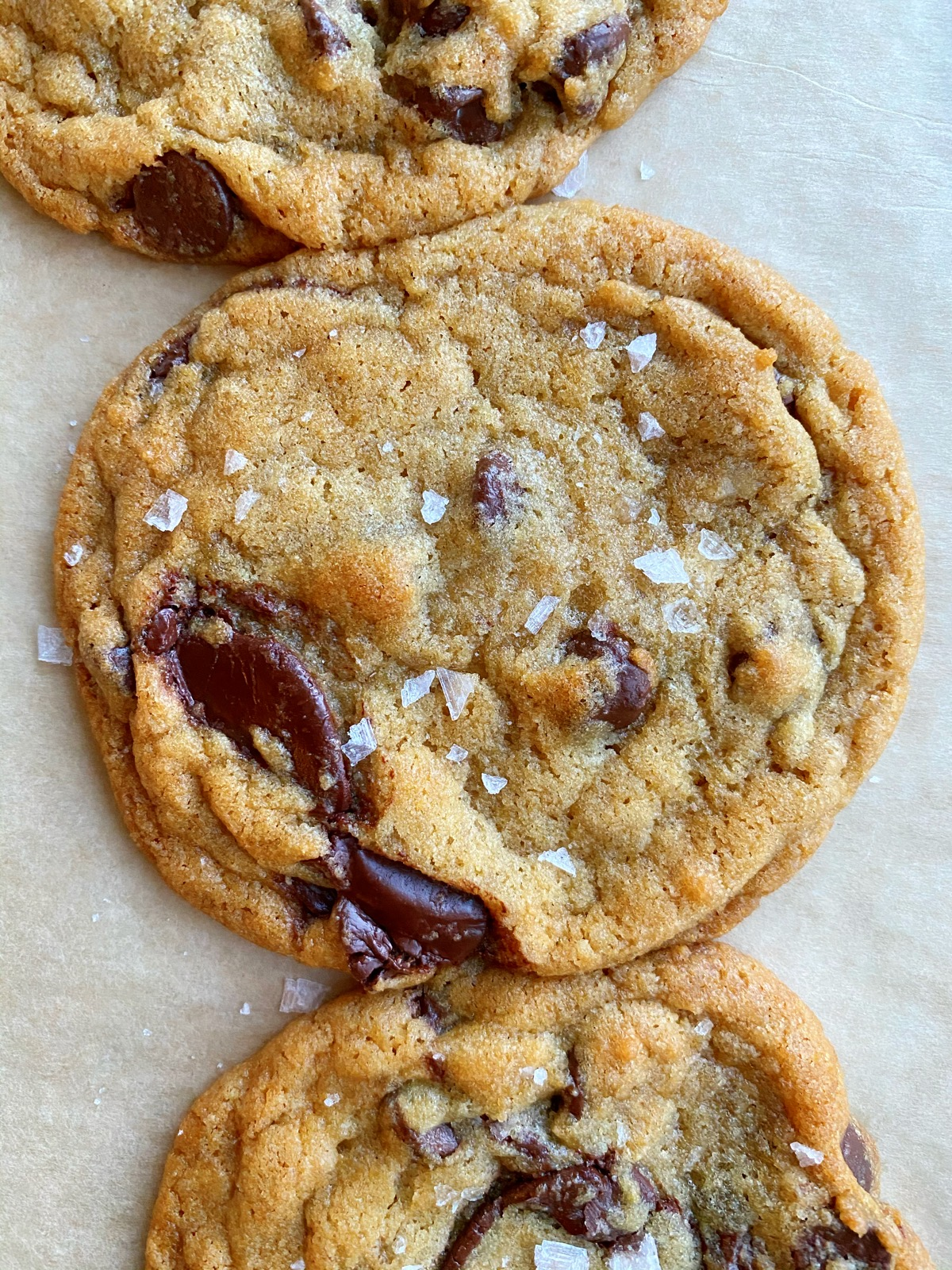 Magnolia Table Chocolate Chip Cookies! Chocolate chip cookies from Joanna Gaines' book: Magnolia Table but with a few changes.