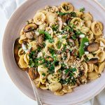 WEEKNIGHT PASTA WITH TURKEY AND SPINACH