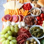 Super Bowl Charcuterie Board