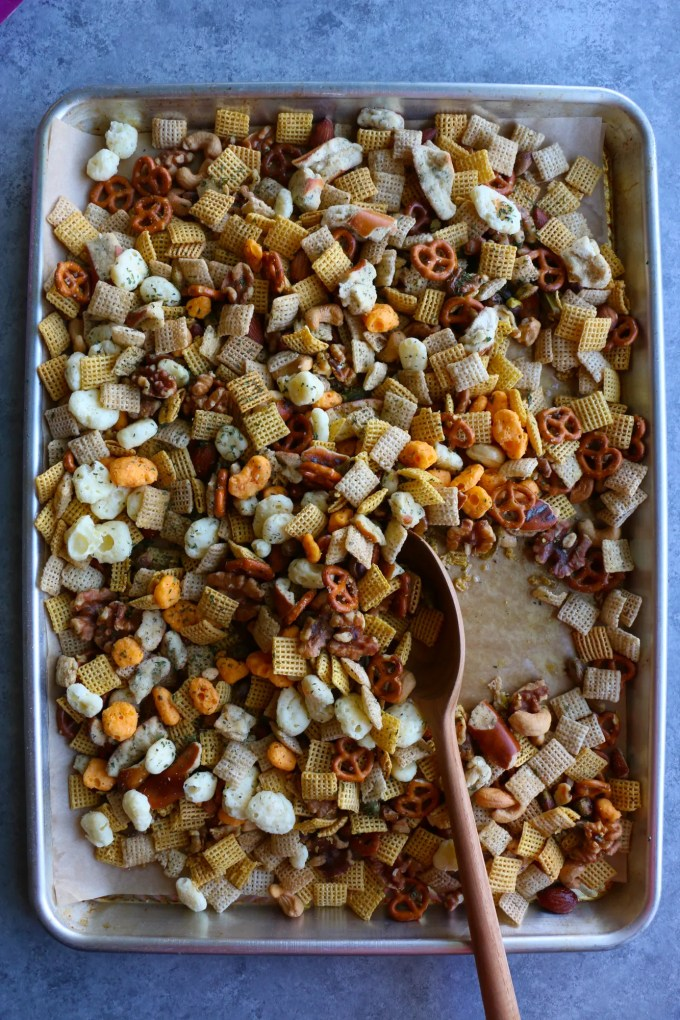 Moon Cheese Chex Snack Mix! Whether you need a snack on-the-go, a snack to keep at your desk at work, an after work out snack or just a big bowl of deliciousness for a movie night at home, we hope you try this recipe! It's so good!