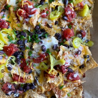 Fridge Foraging Sheet Pan Nachos! I was able to put together glorious and delicious sheet pan nachos using what I have in my fridge.