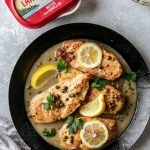 Chicken Piccata made with Land O Lakes® Butter with Canola Oil! The perfect recipe for a weeknight dinner, or for Mother's Day.