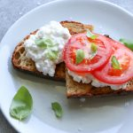 Cottage Cheese Toasts
