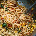 Summer Pasta with Corn
