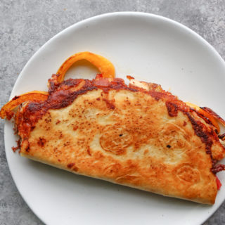 How To Make a Quesadilla! Delicious, cheesy and can be filled with whatever you want! If you don't know how to make a quesadilla, keep reading!