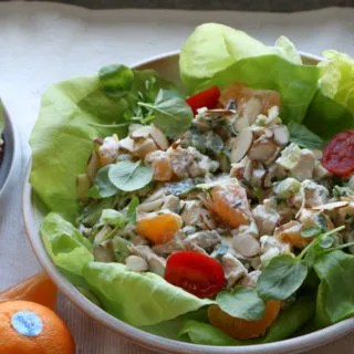 Chicken Salad with Peelz California Mandarins! I'm taking my chicken salad to next level deliciousness! Check it out!