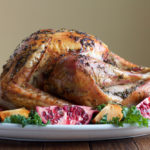 Best Butter Roasted Turkey with Gravy. You need this turkey for your Thanksgiving Day table! Wet brine, stuffed with aromatics and rubbed with an herb butter, this turkey is so good!