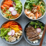 Rice Bowls and How To Make Rice In Your Instant Pot! Here are four different ways to make and serve rice bowls.