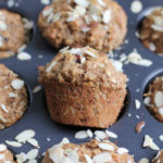 One Bowl Coconut Oat Muffins