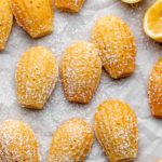 How To Make Madeleines! Your favorite French tea cake cookie with perfect notes of lemon! We love making these for gatherings, parties and for brunch!