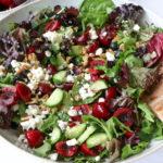 Fresh Summer Fruit Salad with Northwest Cherries
