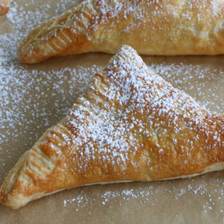 Easy Raspberry Turnovers!! Three ingredient raspberry turnovers! These are so good and so easy to make! Fill them with anything!