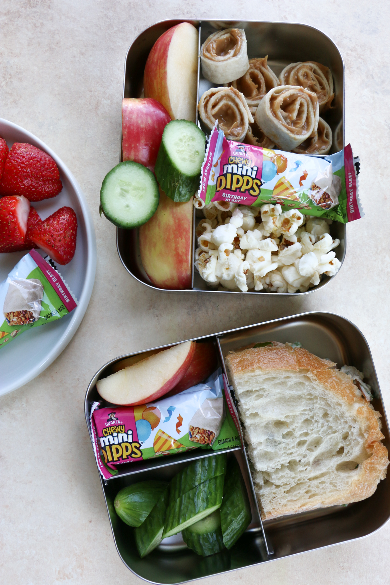 Back to School Lunches! It's that time of the year again! Let me help you take the guess work out of packing lunch for your kids. Here are some great options for packing a healthy lunch for your child.