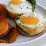 Baked Squash Egg Muffins