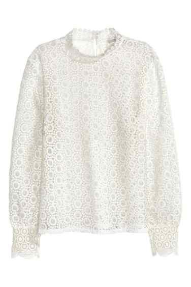 hm blouse dentelle