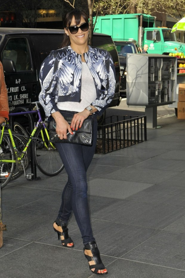 Paula Patton, star of 'Mission Impossible: Ghost Protocol' out and about in New York City
