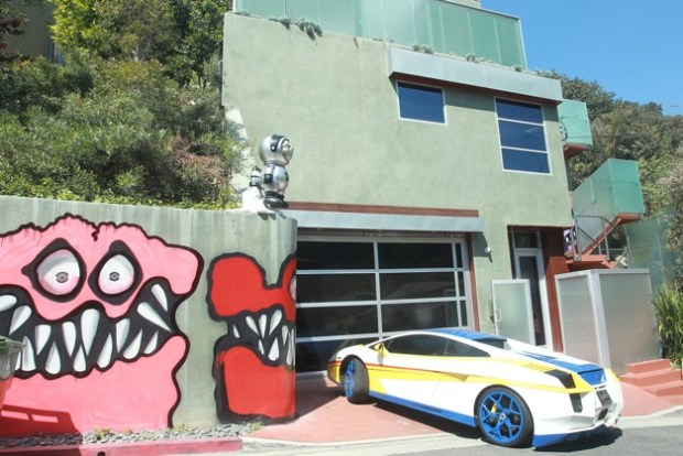 Chris Brown is facing serious backlash from his neighbors who say his monster themed graffiti scares the local kids at his Los Angeles home