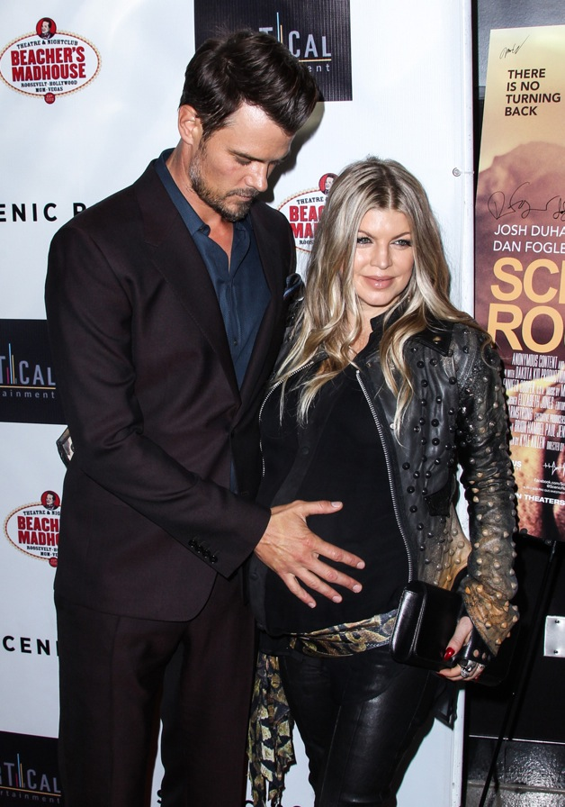 Fergie and Josh Duhamel arrive at 'Scenic Route' Los Angeles Premiere at Chinese 6 Theater Hollywood in Hollywood