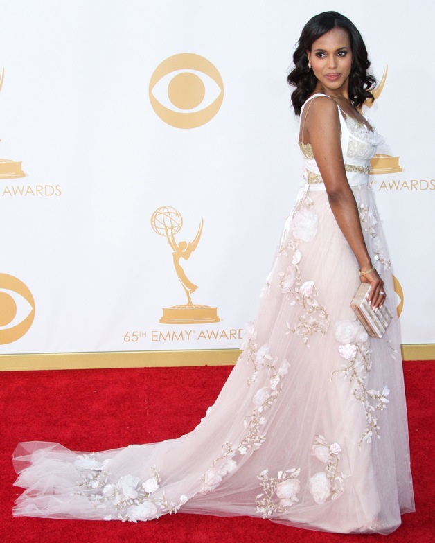 Kerry Washington attends the 65th Annual Primetime Emmy Awards held at Nokia Theatre L.A. Live in Los Angeles