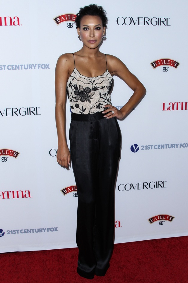 Actress Naya Rivera attends the Latina Magazine 'Hollywood Hot List' party at The Redbury Hotel in Hollywood