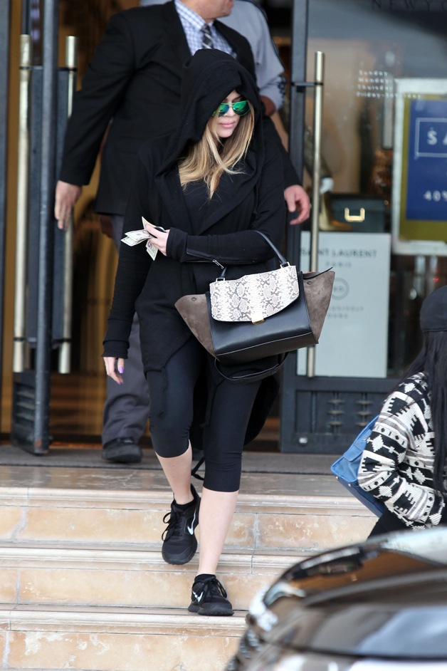 Khloe Kardashian out and about in Los Angeles