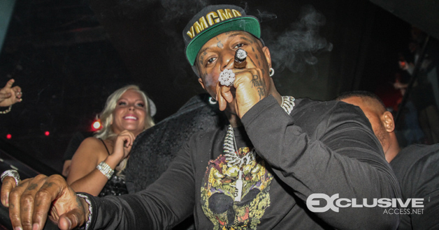 Birdman rings in 2014 at Cameo Theatre in Miami presented by Grand Touring Vodka