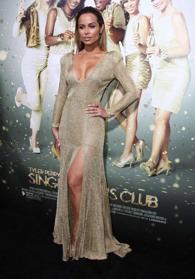 Zulay Henao attends the premiere of 'The Single Moms Club' in LA