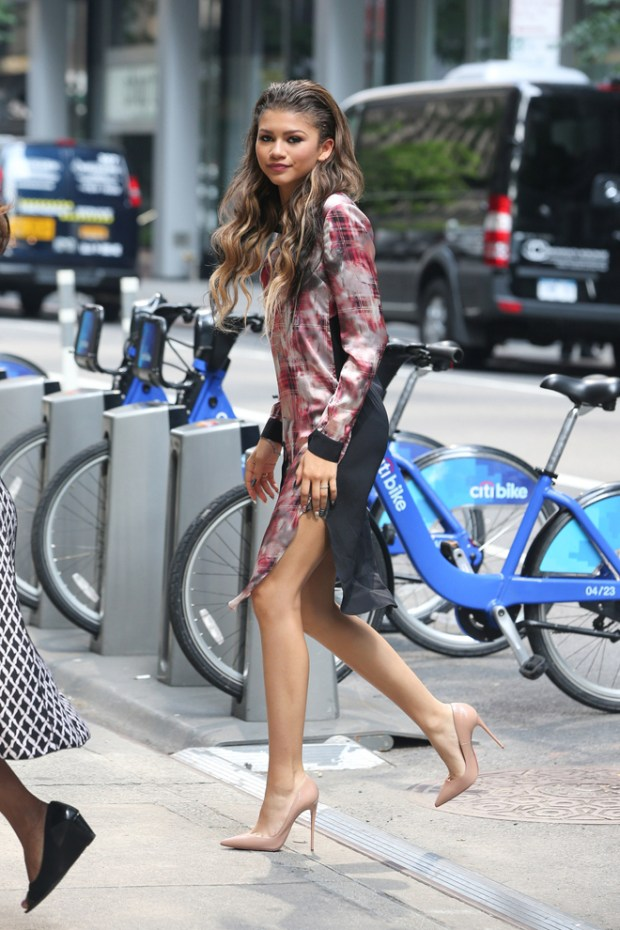 Zendaya seen out and about in New York City