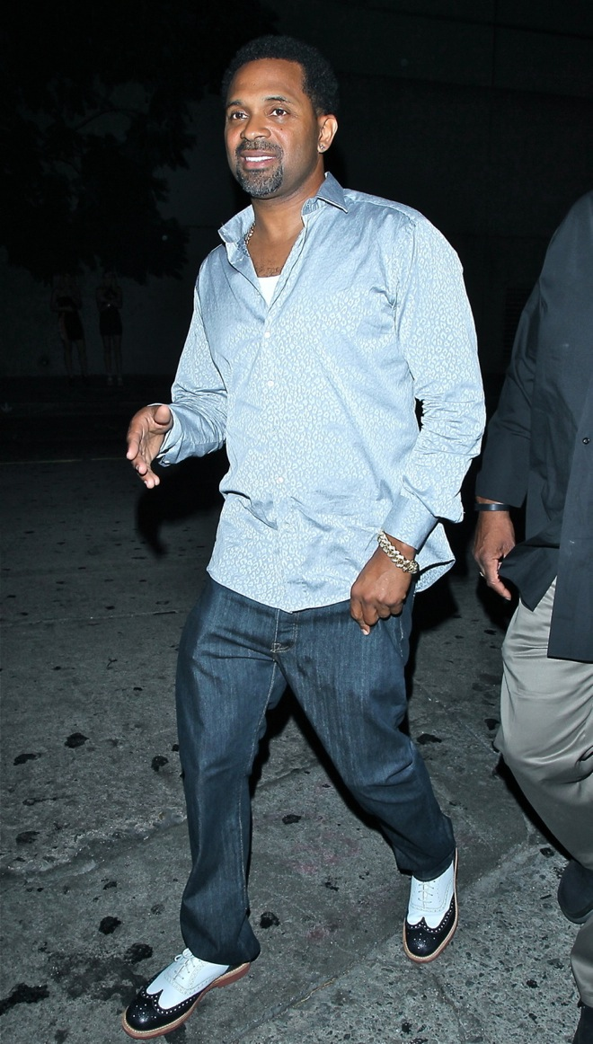 Mike Epps arrives to attend the birthday party of Lil Wayne at Lure Night club in Hollywood