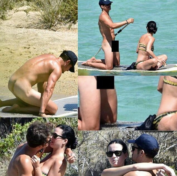 image Orlando bloom nude penis in vacation with katy perry