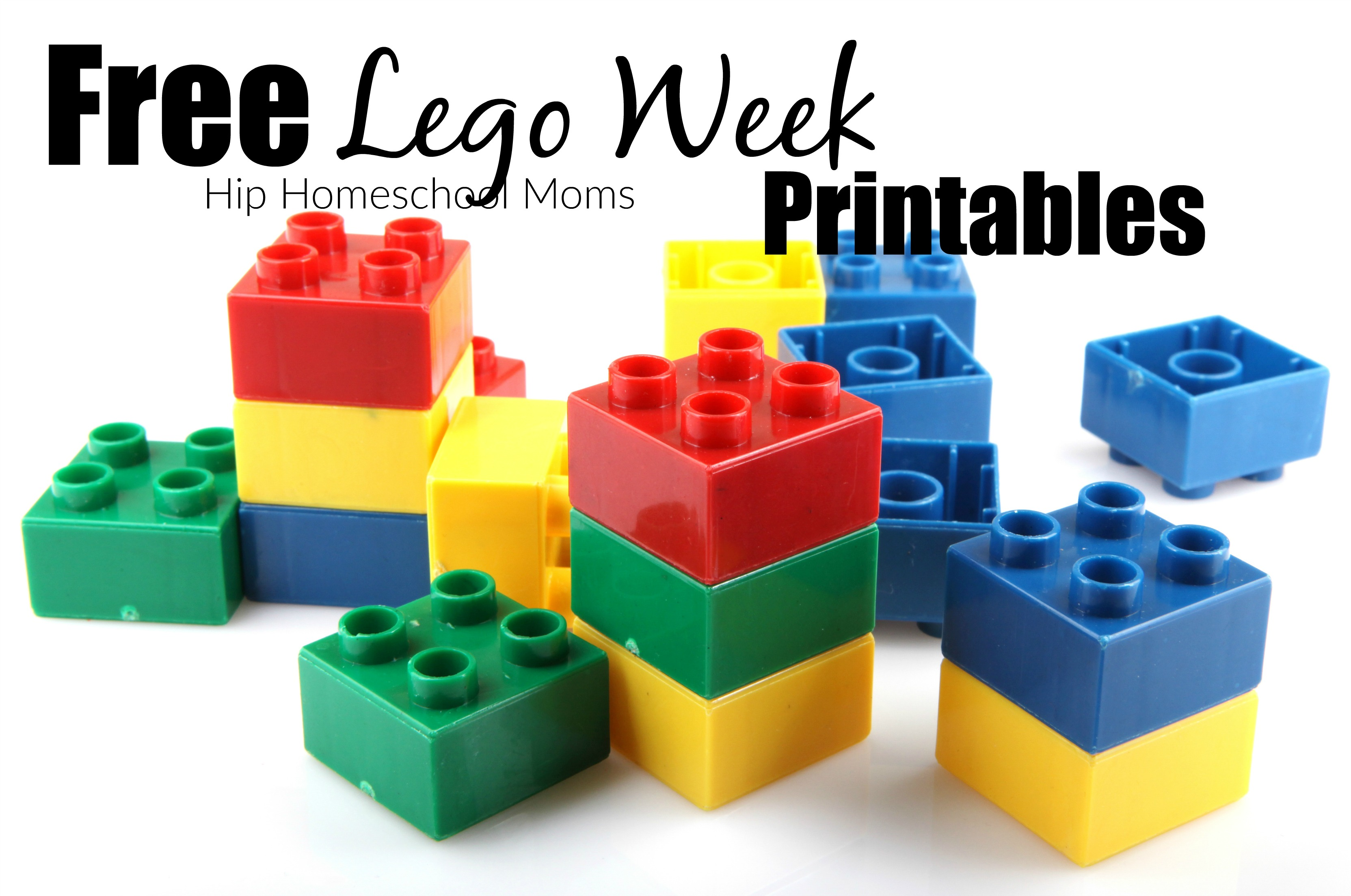 Lego Week Free Printables