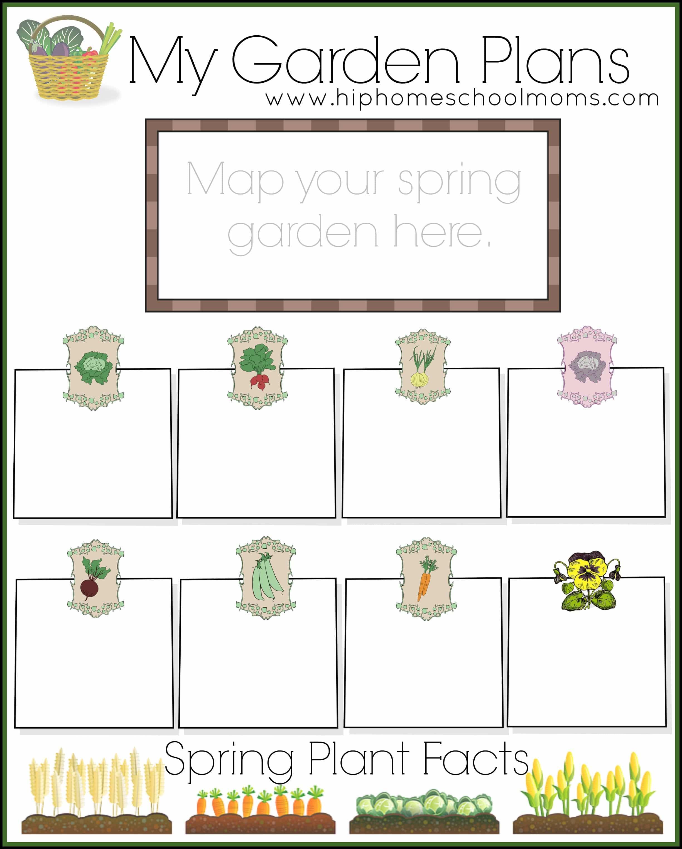 Free Garden Planner For Kids