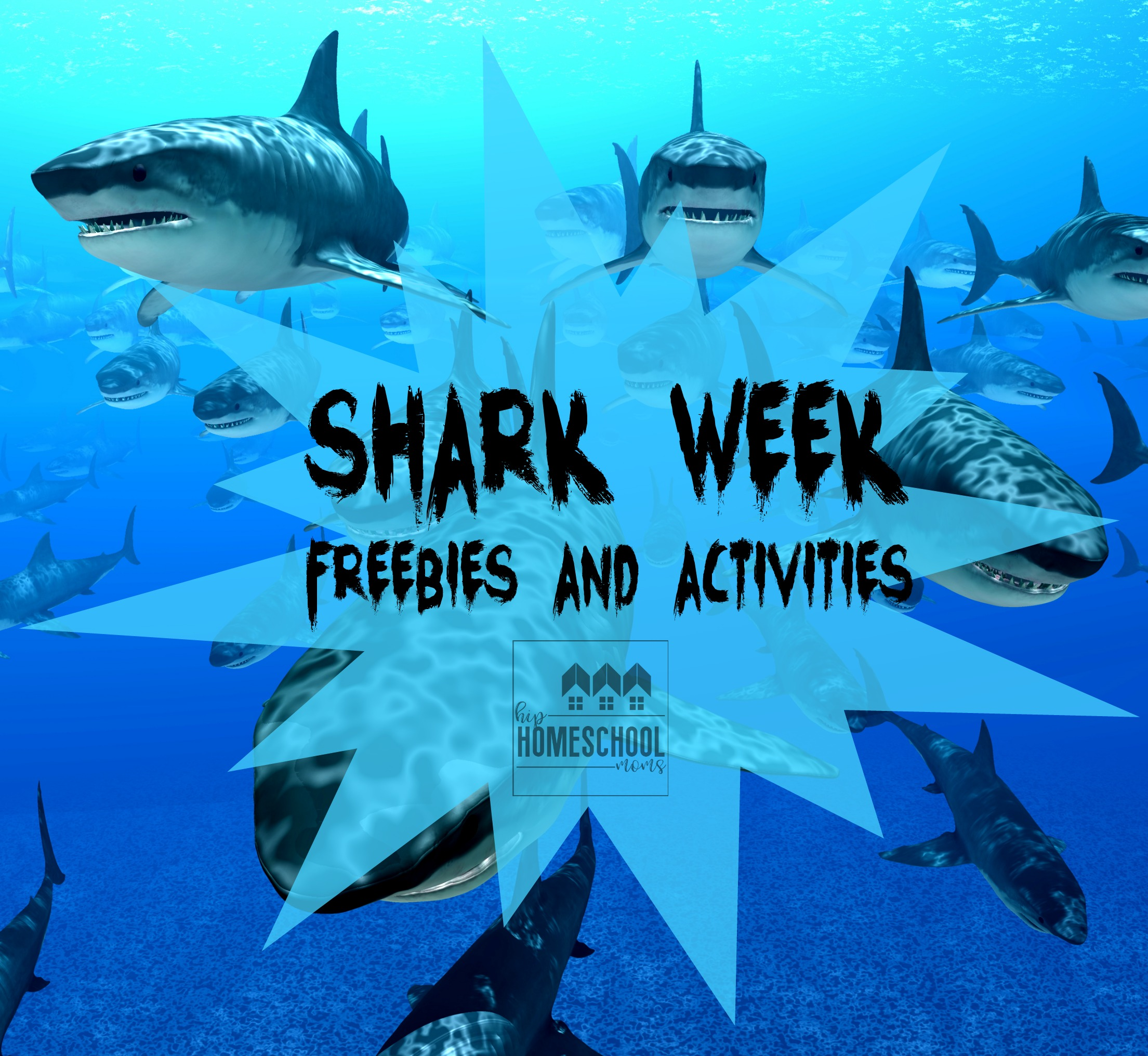 Shark Week Freebies And Activities For Kids
