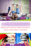 Pin A comprehensive book list for 12 year old boys who love Percy Jackson 2