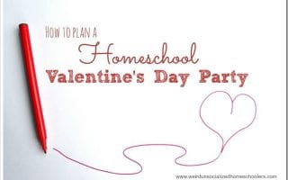 Planning a Valentines Day party for your homeschool group doesnt have to be stressful. Try these