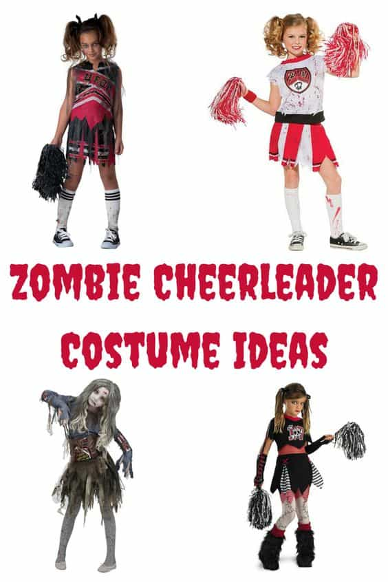 Zombie cheerleader costume ideas hip hoo rae here are a few different zombie cheerleader costume ideas for you you will rock these solutioingenieria Gallery
