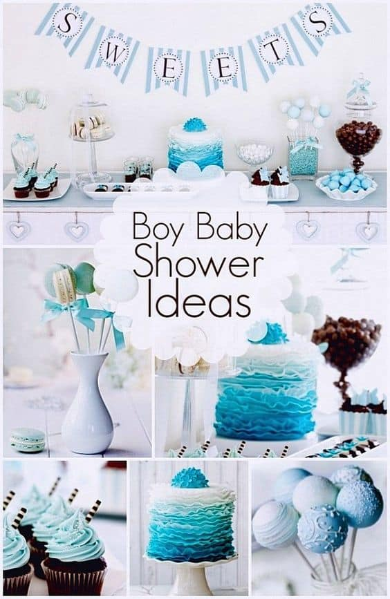 DIY baby shower ideas for boys