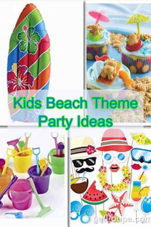 Kids Beach Theme Party Ideas